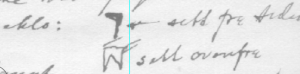 Skisser til neminga klo frå eitt av svara frå Hedmark. Denne har ein ekstra funksjon ved at du kan feste bord på høgkant i kloa.