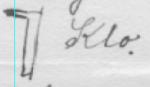 Enkel skisse av klo i eitt av svara frå Oppland. Denne minner om bitehest på fotografiet over.