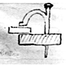 Kjellingfoten som er med i teikninga til Arne Elven, Agdenes i Sør-Trøndelag
