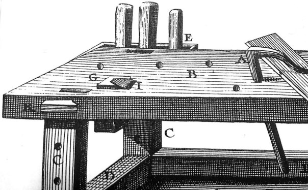 Diderot-hyvelbänk