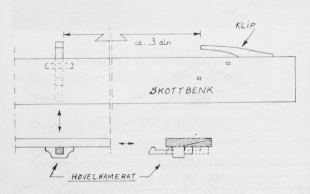 I samband med arbeidet for å dokumentere båtbyggingstradisjonen til Johan Hårstad i Åfjord kom det fram informasjon om skottbenk. Teikninga av han minner meir om ein høvelbenk av same type som den frå Helberg i Bardu. Teikning frå boka om Åfjordsbåten, byggeteknikk og måledata. (Eldjarn og Godal 1988)