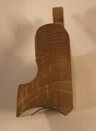 Staffhøvelen som var brukt til høvlinga. Foto: Rune Hoflundsengen