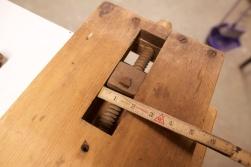 Detalj av benkehake og baktang. Foto: Roald Renmælmo