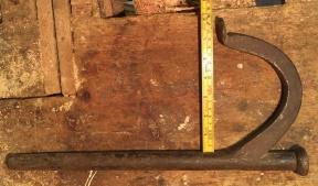 Ronghaken har kjeft på 18 cm. Foto: Peter Brennvik