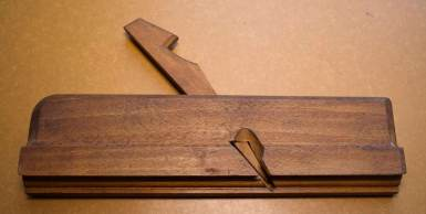 Molding plane made by Jan Arendtz in 1664. Photo: Roald Renmælmo