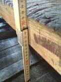 Arbeidshøgda på høvelbenken er ca 72 cm. Foto: John Selsjord