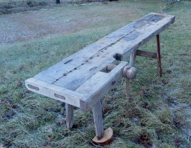 Høgda på benken er berre 72 cm